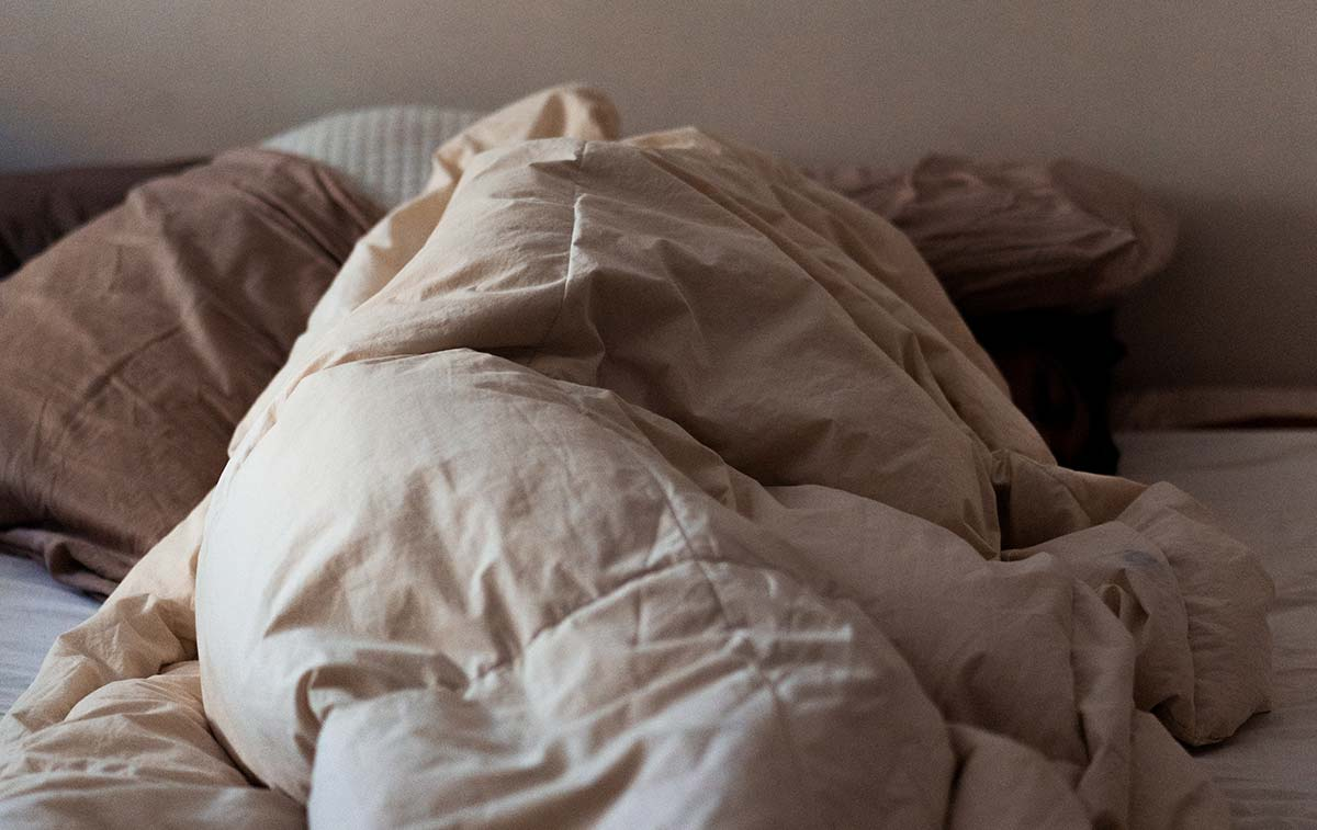 Under the blankets
