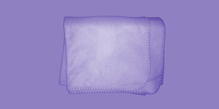 Violet blanket