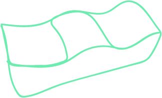 Outline of a BBL pillow