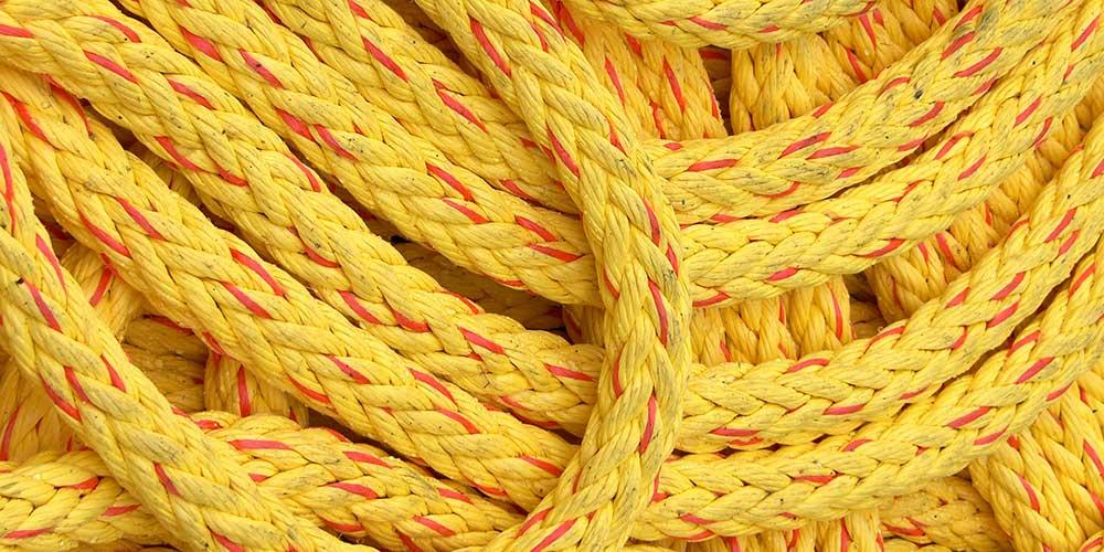 Microfiber rope